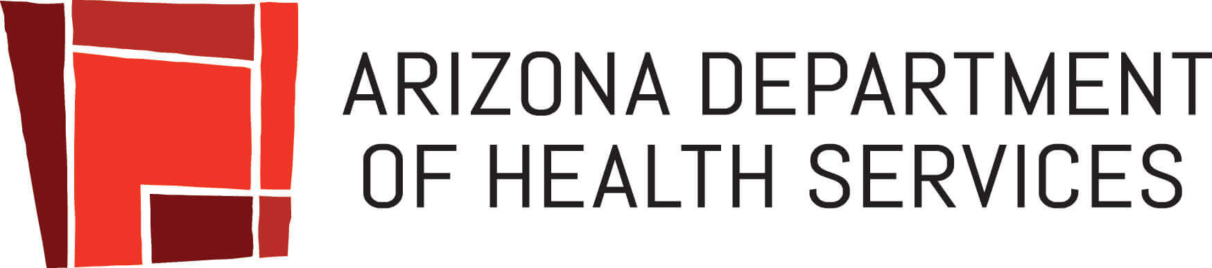 arizona department of health services logo in red
